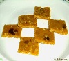 orange burfi