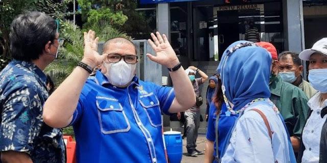 Razman Arif Mundur, Kubu Moeldoko: Mana Yang Tidak Kuat Akan Terserang Virus