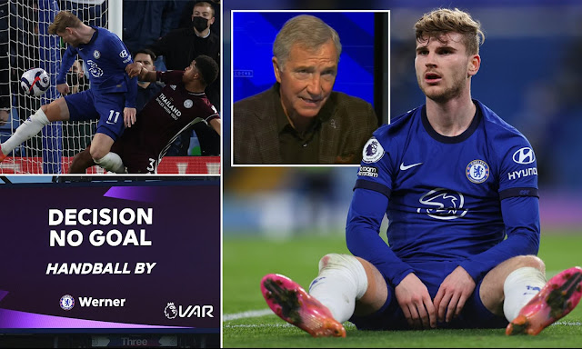 Graeme Souness slams Mike Dean for Timo Werner decision in Chelsea vs Leicester