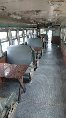 池上飯包文化故事館 保存車両内装
