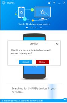 عمل اتصال شيرات Shareit 2020