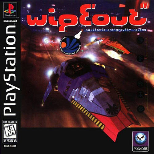 WipEout ISO PS1