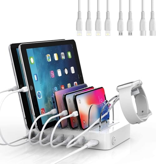 Soopii Quick Charge 3.0 6-Port USB Charging Station