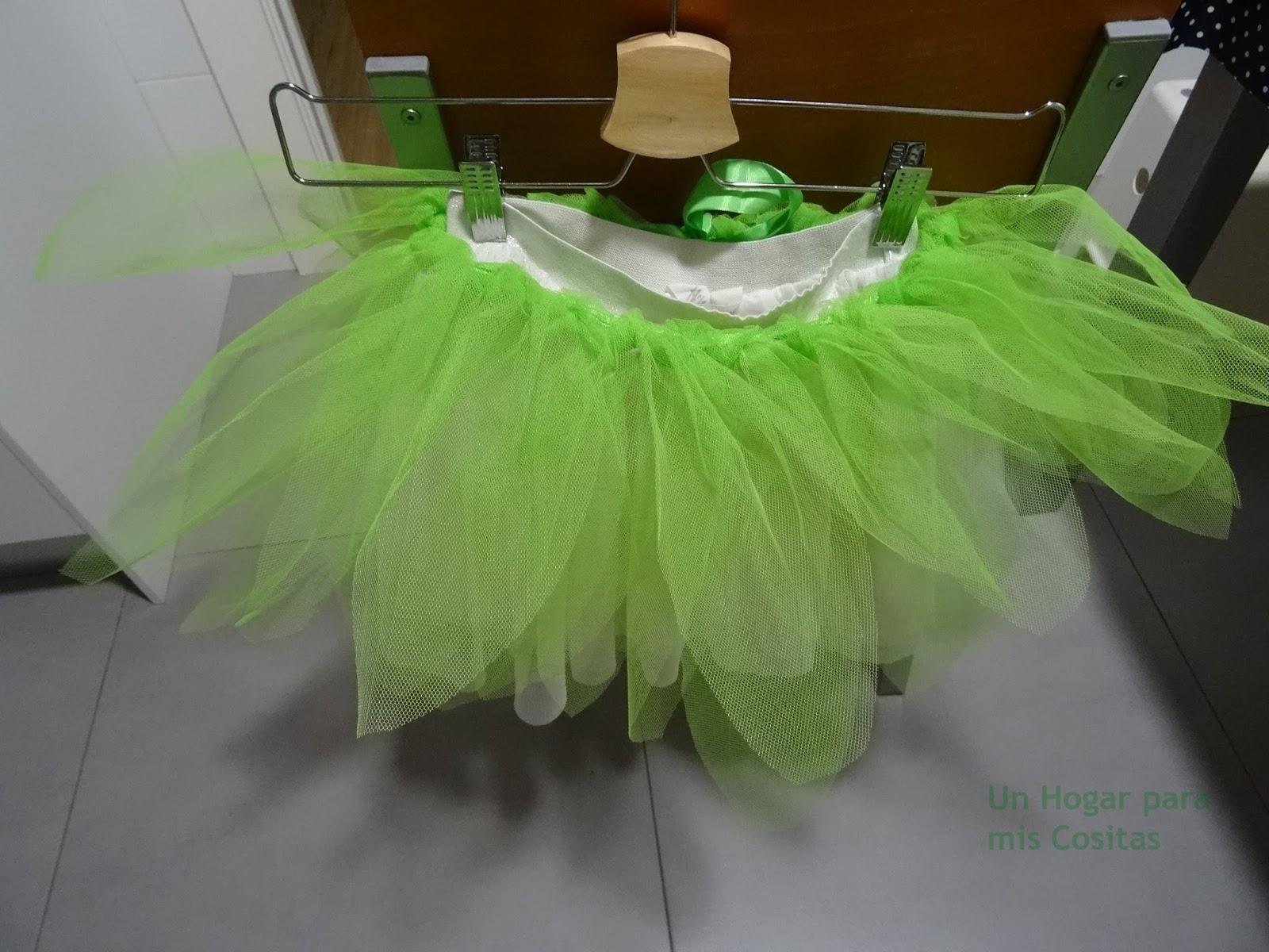 5f25fae20 Un Hogar para mis Cositas: Falda de tul para disfraz-Disfraz de ...