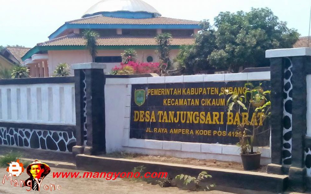 Desa Tanjungsari Barat, Kecamatan Cikaum. Poto Jepretan Mang Dawocx Facebooker Subang ( FBS )