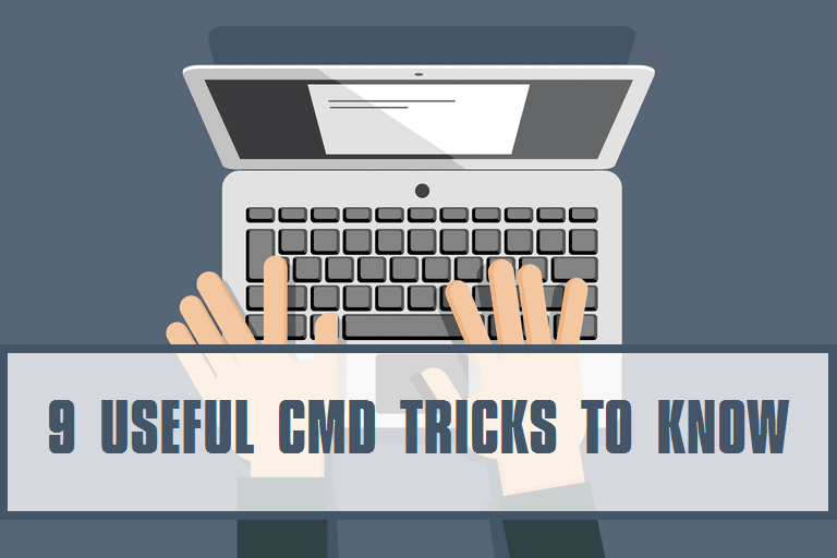 useful cmd tricks