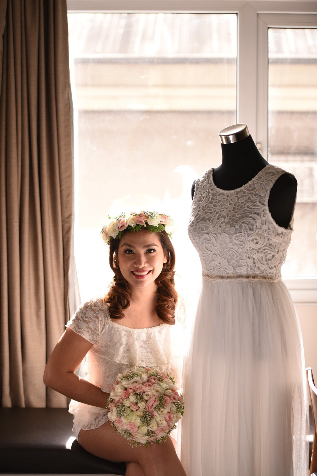 My RTW Wedding Gown Search And Finding The One - Mommy Practicality
