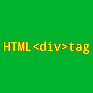 HTML <div> tag