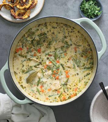 Creamy Chicken Potpie Soup