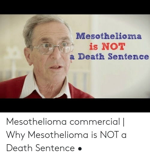 Mesothelioma Commercial Old Guy