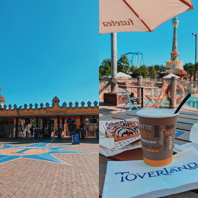Entree Toverland en donuts en koffie in Port Laguna