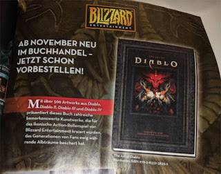 diablo 4 artbook blizzard blizzcon 2019