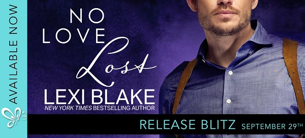 No Love Lost by Lexi Blake Release Blitz