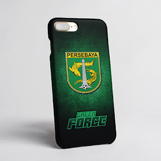 Mockup Custom Case iphone 8 Plus Persebaya