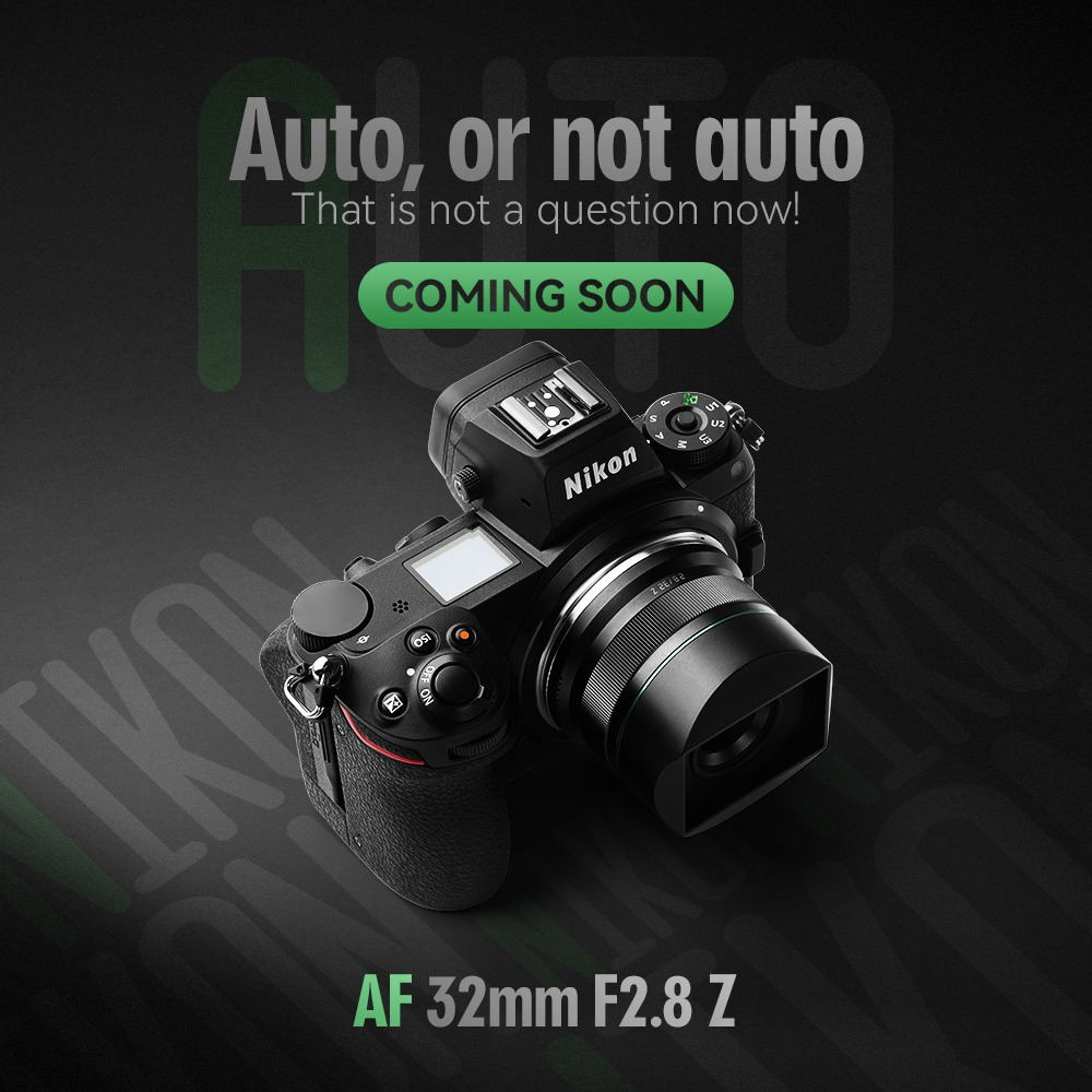 TTArtisan AF 32mm f/2.8 Z с камерой Nikon
