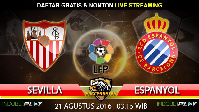 Prediksi Sevilla vs Espanyol 21 Agustus 2016 (Liga Spanyol)
