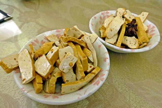 深耕圓素食五香豆干~基隆素食熱炒