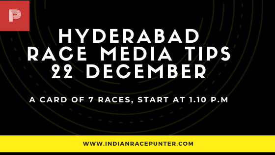 Hyderabad Race Media Tips, free indian horse racing tips, indirace