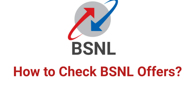 How to Check BSNL Offers, Balance and other services.