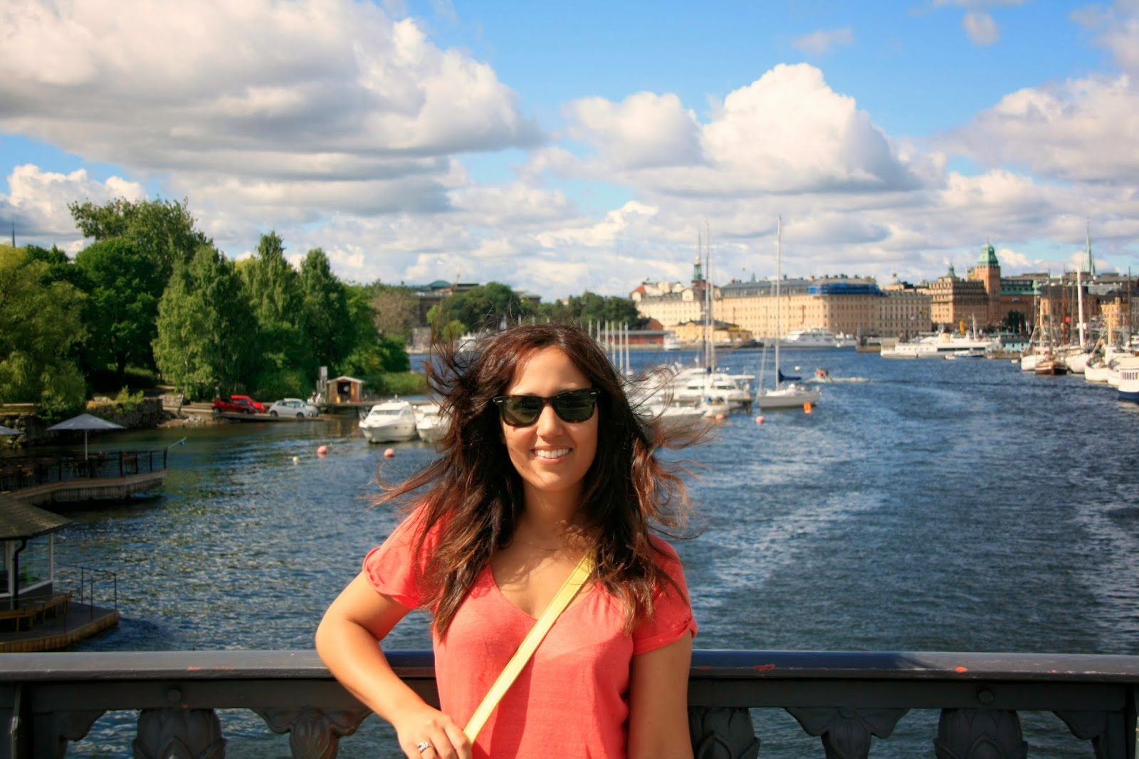 Río de Estocolmo desde Djurgarden