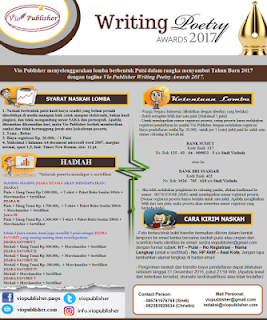Lomba Menulis Puisi - Writing Poetry Awards Vio Publisher