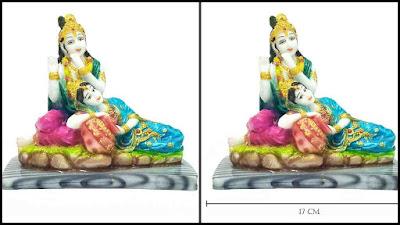Marble Karigari Radha Krishna Statue