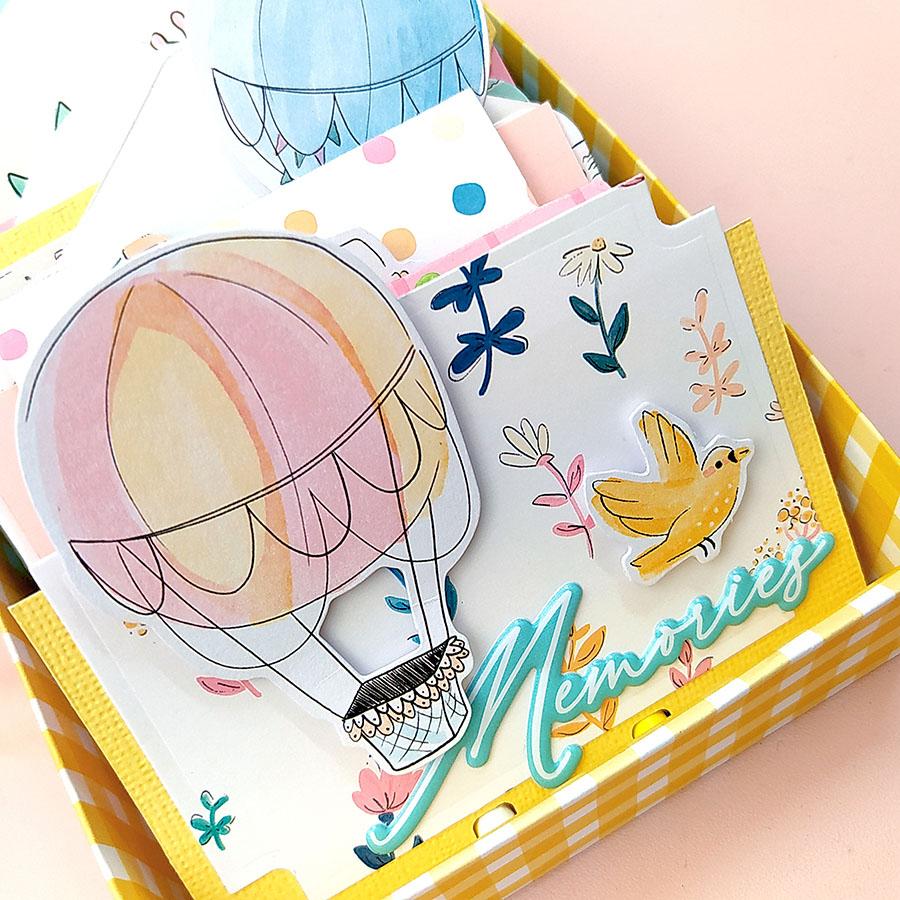 DIY MemoryDex Box - Mini album