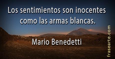 Frases de amor - Mario Benedetti