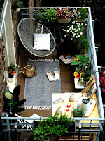 Small beautiful balcony design