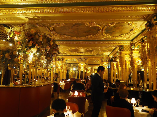 Afternoon Tea in London : Hotel Café Royal ~ Ee Sing's Traventures