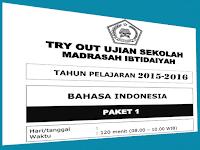 Download Soal-Soal Try Out Ujian Sekolah SD/MI Plus Kunci Jawaban
