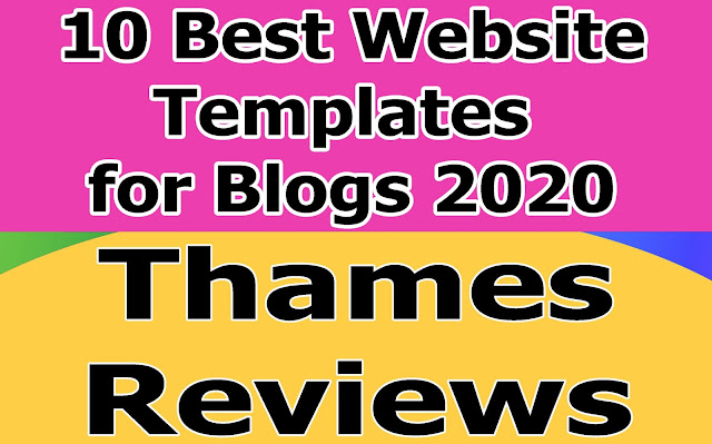 10 Best Website Templates for Blogs 2020