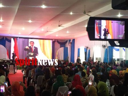 Presiden Jokowi, Hadiri Rakor Pemberdayaan Masyarakat Desa