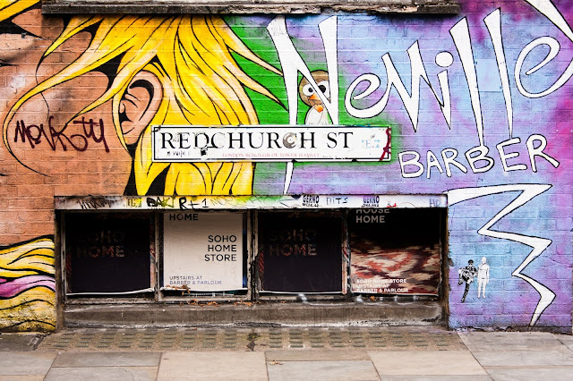 Redchurch Street in Shoreditch East London