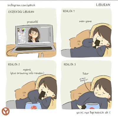 12 Meme 'Liburan' Ini Bikin Ngakak Parah, Turut Prihatin Deh!