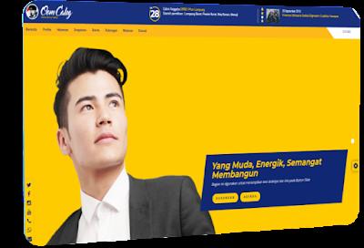 Jasa pembuatan website caleg 2020