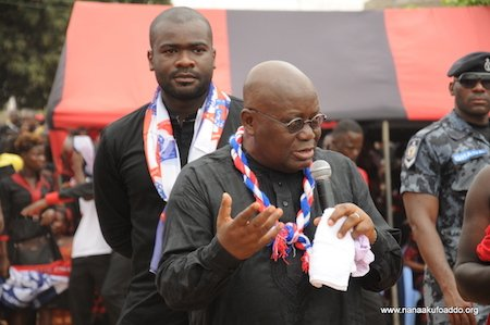 Akufo-Addo's campaign style outdated – Mahama jabs