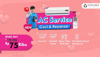 Home cleaning Jakarta, Service AC