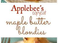 Applebee's Copycat Maple Butter Blondies