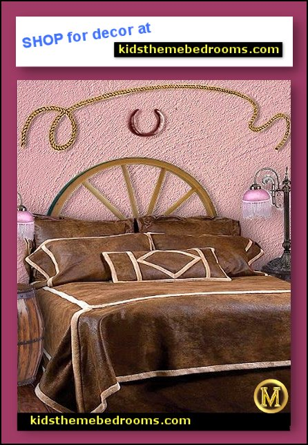 cowgirl-bedroom-decorating-cowgirl-wall-decorations-cowgirl-bedding horse bedrooms