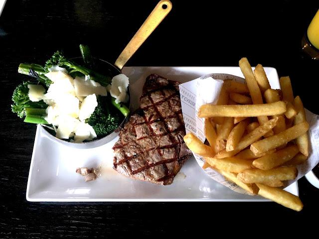 Miller & Carter Steakhouse Cheshire 12oz Ribeye Steak