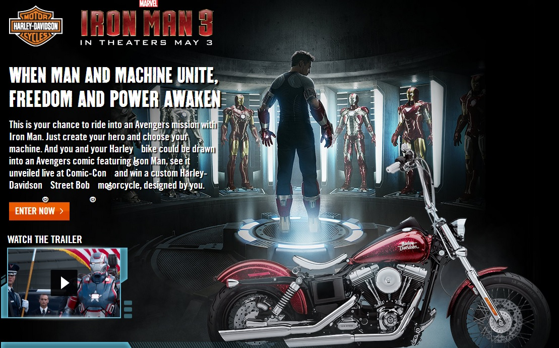Jedi Mouseketeer: Harley-Davidson And Marvel Join Forces For