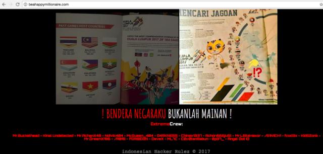 Balasan untuk Malaysia di insiden bendera merah putih terbalik