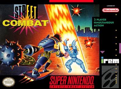 Street Combat Review Super Nintendo 1993 Infinity Retro