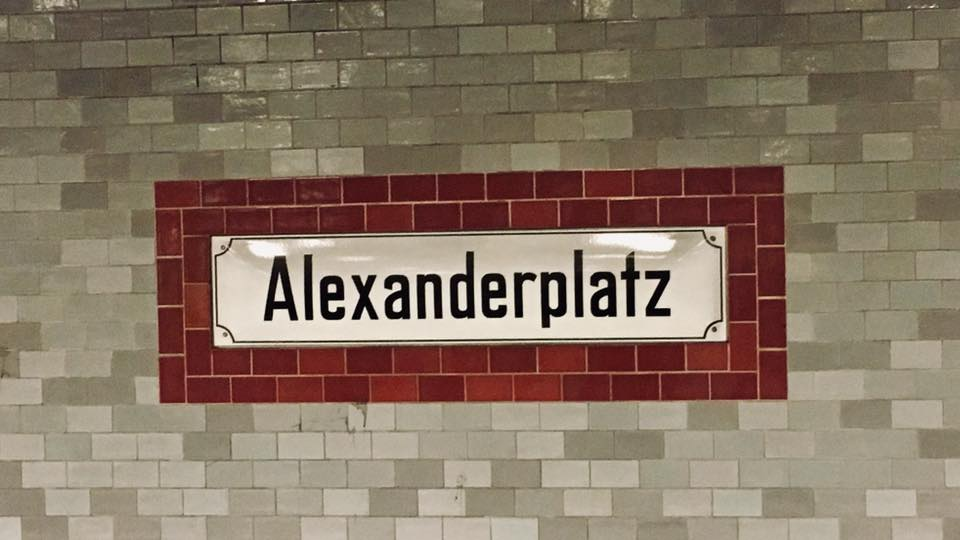 Sign of Alexandraplatz