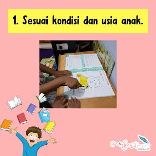 kondisi dan usia anak belajar