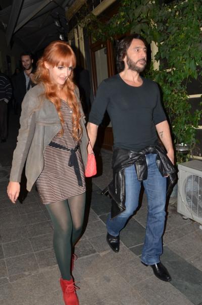 Meryem Uzerli And Can Ates İstanbul gecel...