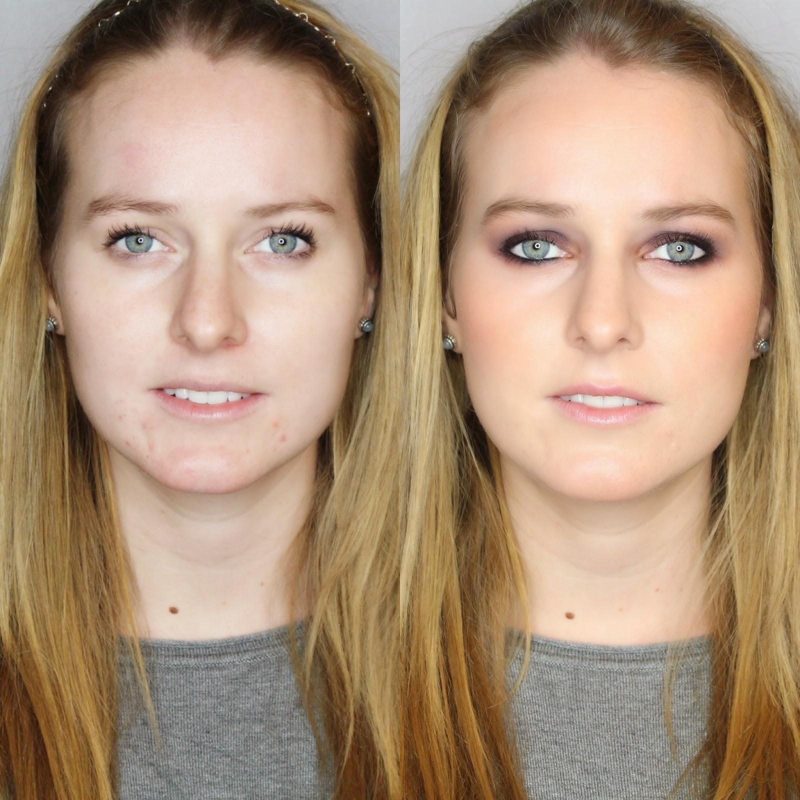 Maquillaje Antes y Después con Brenda