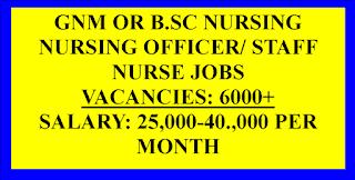 Nursing Officer jobs with 40,000 salary