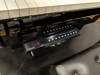 Yamaha AvantGrand series pull-out drawer button control panel